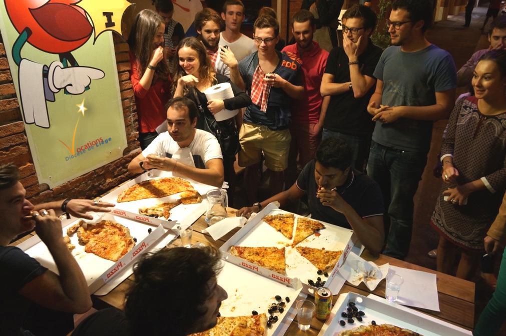 repas pizza